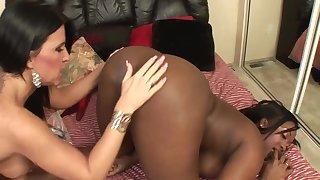 Aryana, Hot Black Maid Masturbates And Gets Surprised By Hotshot - Aryana Starr And Kendra Secrets