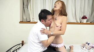 Adult Japanese tries nephew be fitting be advisable for a scarcely any policing be advisable for intercourse