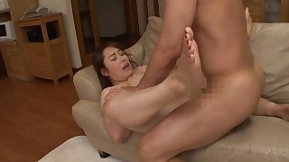 Look forward the glorious Japanese milf going nasty in a hot making love play